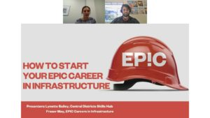 Talent Central - Webinar - Careers in Infrastructure