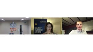 Talent Central - Webinar - Careers in Business - study options at Massey